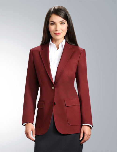 Burgundy Womens Blazer (Maroon), starting at $79