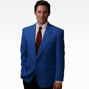 Royal Blue Mens Blazer