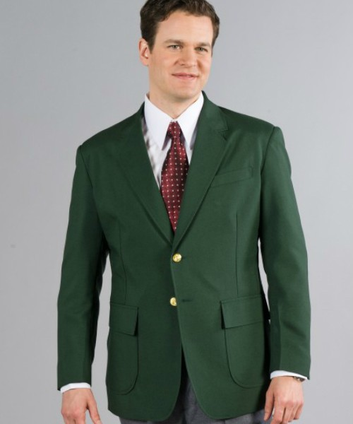 Hunter Green Mens Blazer - short, regular, big & tall