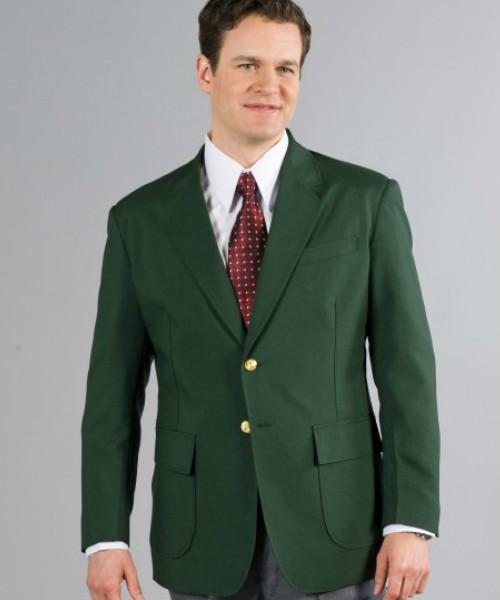 Hunter Green Mens Blazer - short, regular, big & tall