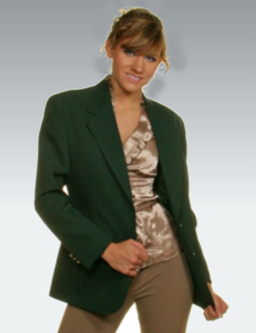 Hunter Green Womens Blazer - starting at $79