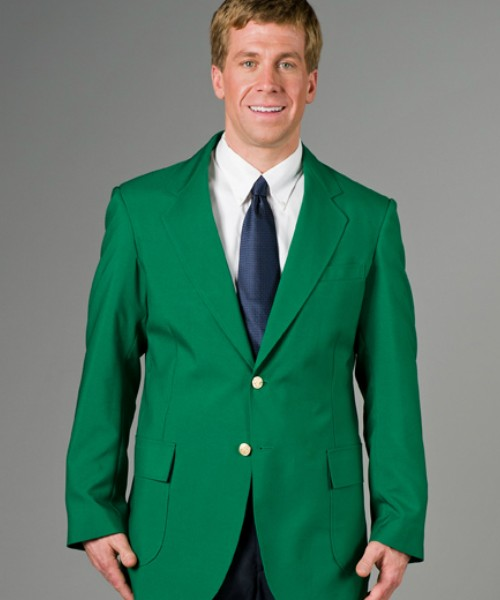Kelly Green Mens Blazer, Machine Washable, from $89