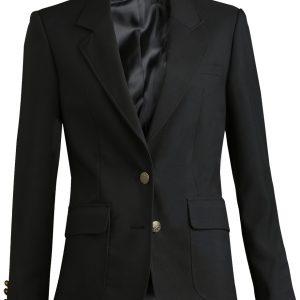 Edwards Womens Uniform Blazer Black