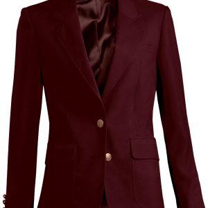 Edwards Womens Uniform Blazer Burgundy
