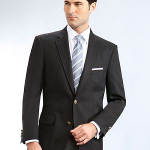 Black Mens Uniform Blazer