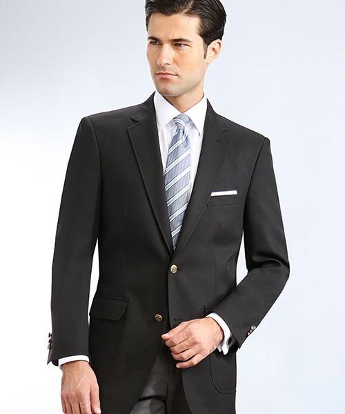 Black Mens Uniform Blazer