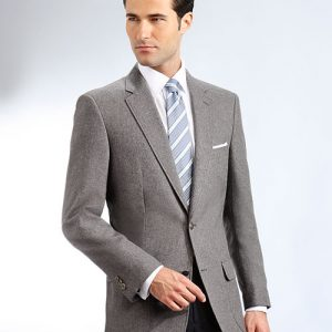 Gray Mens Uniform Blazer