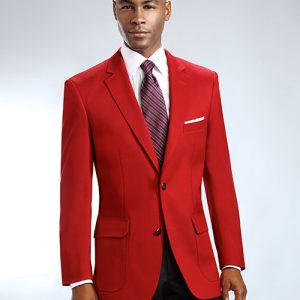 Artillery Red Mens Blazer