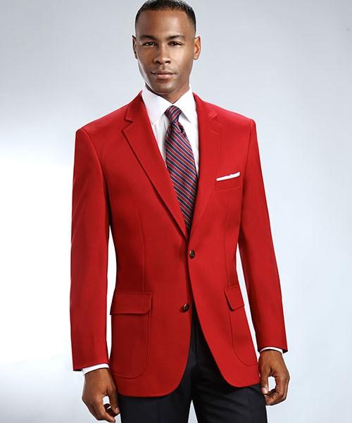 Red Mens Uniform Blazer