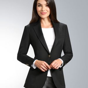 Black Womens Uniform Blazer