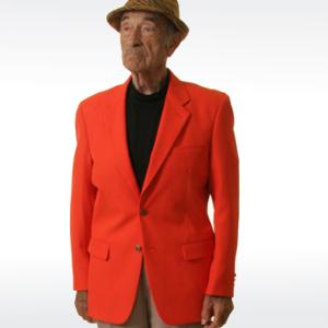 Orange Mens Blazer