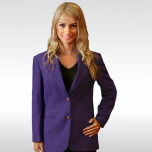 Purple Womens Blazer
