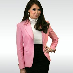 Pink Womens Blazer