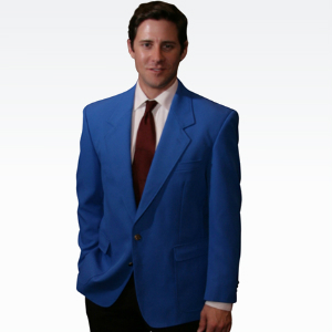 Royal Blue Mens Blazer