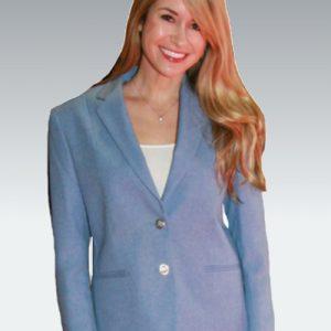 Carolina Blue Womens Blazer