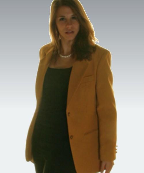 Maxwell Park Women's Gold Blazer