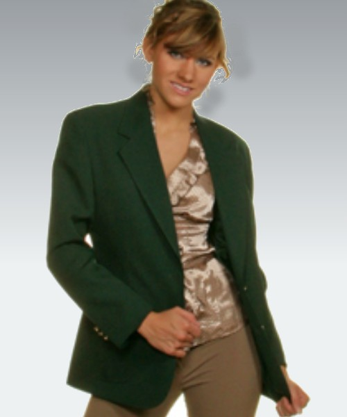 Maxwell Park Women's Hunter Green Blazer