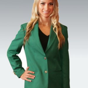 Irish Green Womens Blazer