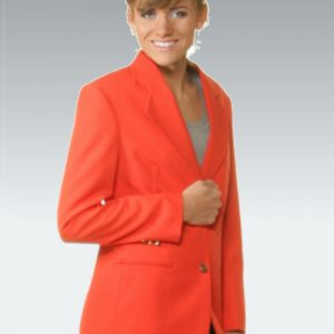 Orange Womens Blazer