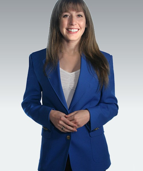 Royal Blue Womens Blazer