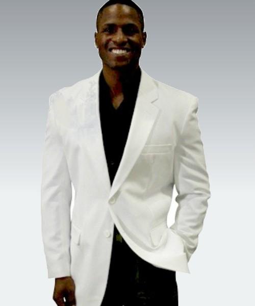 Maxwell Park Men's White Blazer