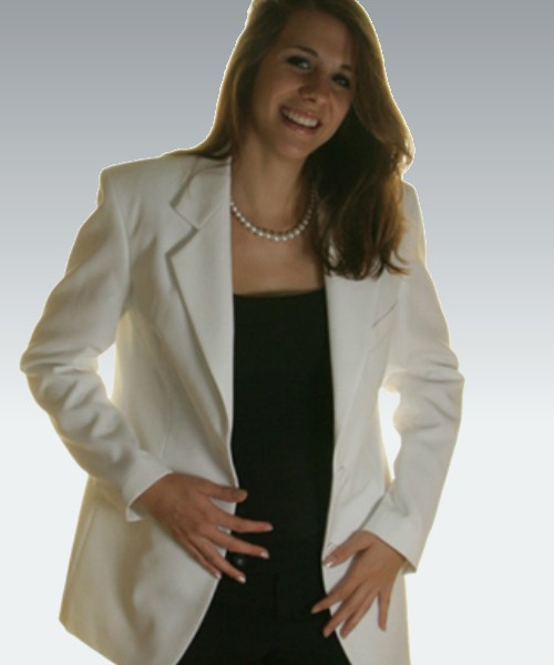 Maxwell Park White Women's Blazer