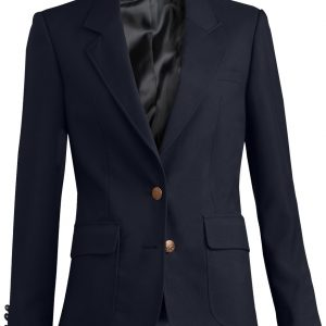 Edwards Womens Uniform Blazer Medium Navy
