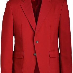 Edwards Mens Uniform Blazer Red