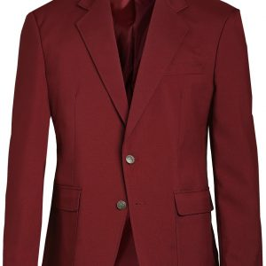 Edwards Mens Uniform Blazer Burgundy