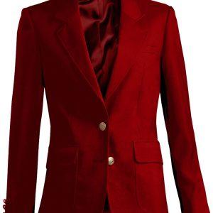 Edwards Womens Uniform Blazer Red